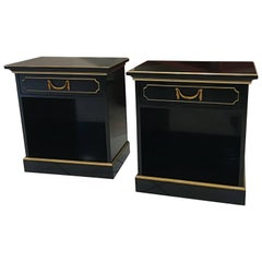 Pair Of Bedside Or side Tables By Maurice Hirch Circa 1940