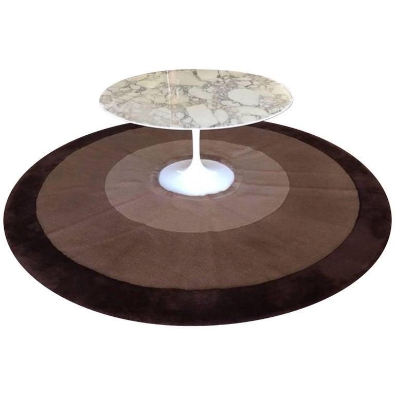 Wool Rug for Saarinen Tulip Table