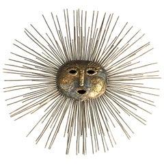 Sunburst Brass Sculpture