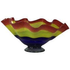 Handblown Art Glass Bowl