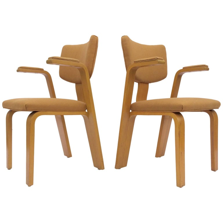 Great Pair of Thonet Armchairs