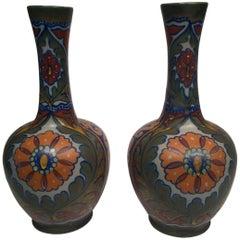GOUDA Dutch Art Nouveau Ceramic circa 1900