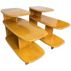 Heywood Wakefield Side or End Table, Pair