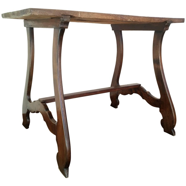 19th Spanish Farm Table or Desk Table