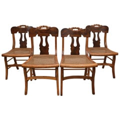 Set of Four Late Federal Dining Chairs