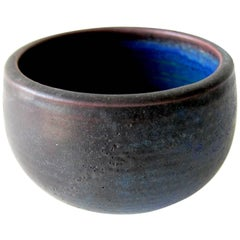 Otto and Vivika Heino California Studio Stoneware Bowl