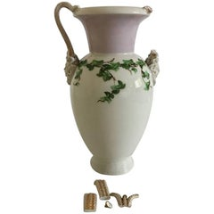 Bing & Grondahl Early Vase with Snake Handles