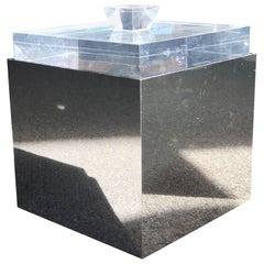 Albrizzi Italia Lucite Ice Bucket