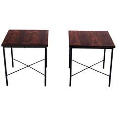 Pair of Side Tables by Geraldo de Barros, Brazil, 1960s