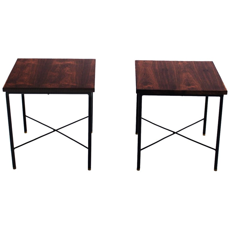 Pair of Side Tables by Geraldo de Barros, Brazil, 1960s