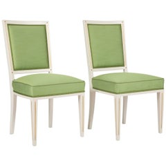 Set of Dining Chairs from Bellevue Palace/Berlin by Carl-Heinz Schwennicke