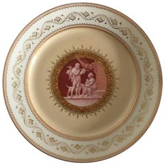 Bing & Grondahl Early Plate with Thorvaldsen Motif #3