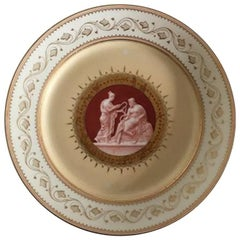 Bing & Grondahl Early Plate with Thorvaldsen Motif #4