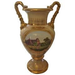 Bing & Grondahl Large Unique Ornamental Vase from 1860-1880