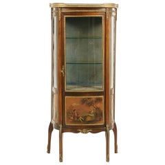 French Louis XV-Style Display Cabinet