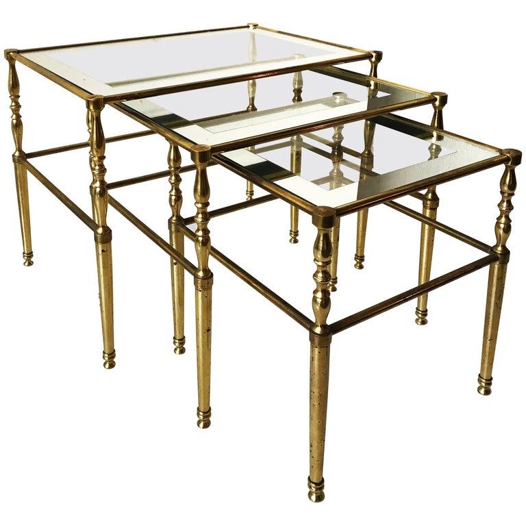 Maison Jansen Set of Nesting Table
