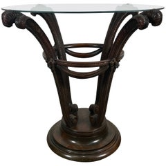 Elegant Art Deco Plume Form Table by Grosfeld House