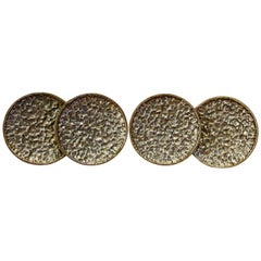 Bronze Large Circular Door or Drawer Pulls