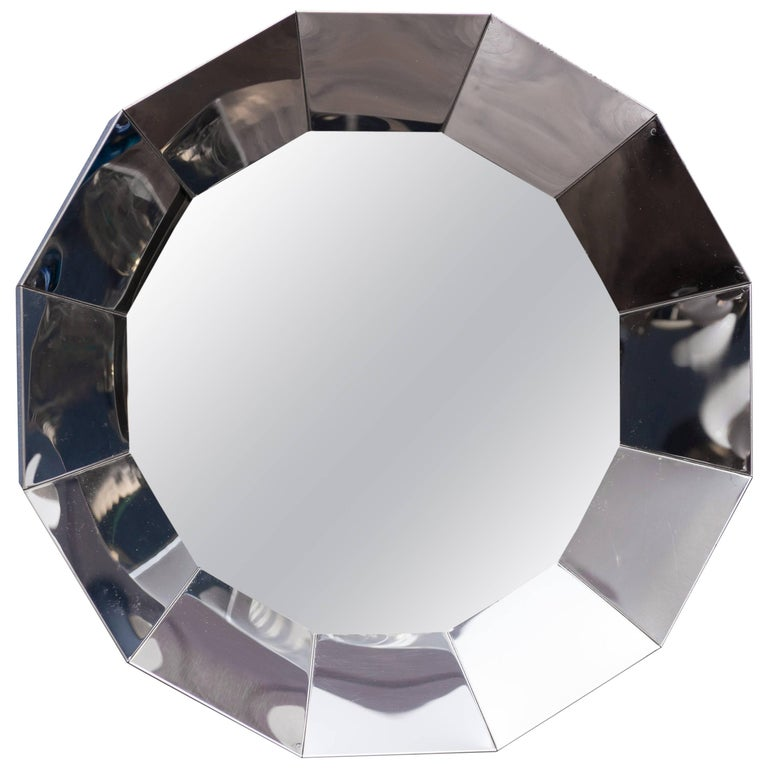 C.Jere Chrome Mirror For Sale