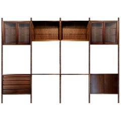 Royal System Wall Unit in Palisander by Poul Cadovius