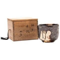 1920s Japanese Ceramic Tea Bowl