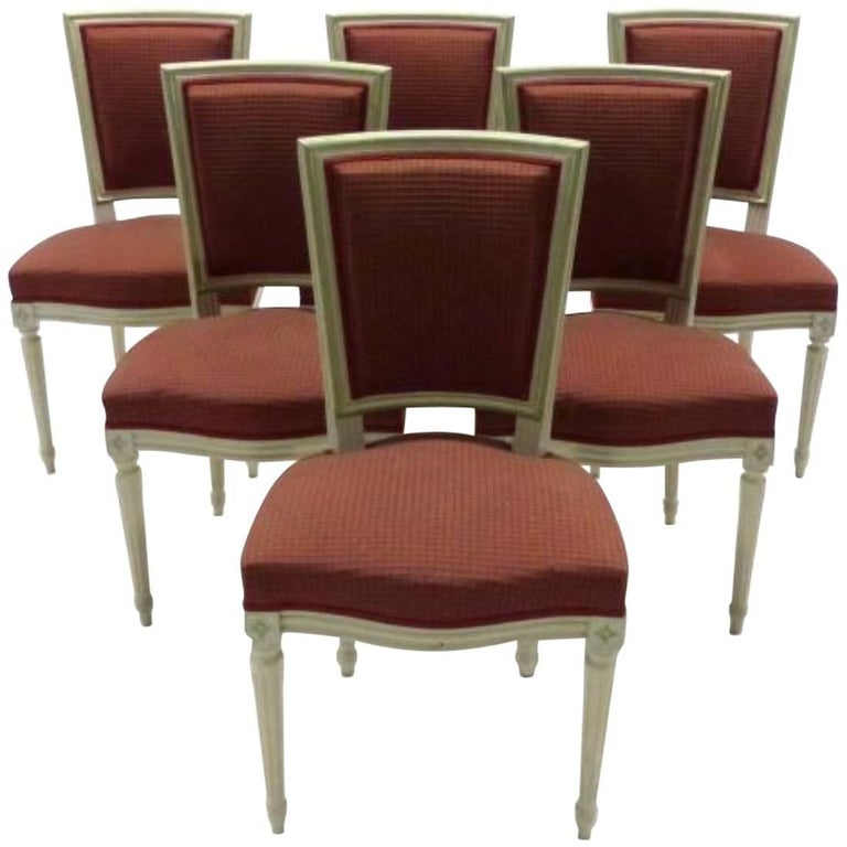19th Century French Set of Dining Chairs