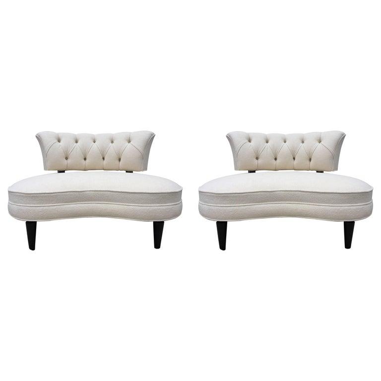 Pair of Lorin Jackson Grosfeld House Club Chairs