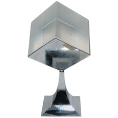 Modern Chrome and Lucite Sculpture, ca. 1970s