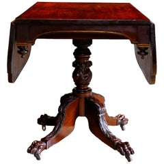 American Federal Black Walnut Drop-Leaf Breakfast Table, circa 1825