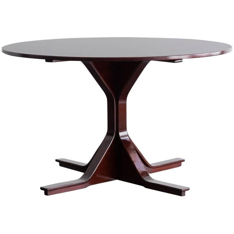 Gianfranco Frattini for Bernini model 522 rosewood table, 1960, offered by The Mark