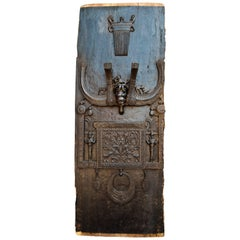 Carved Tribal Wall Panel, Laso So Hagu from Nias, Indonesia, Mid-20th Century