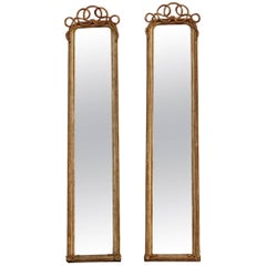 1850-1880 Pair of Mirror Gilted in the Mercury N 3