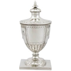 1930s George V Sterling Silver Ink Pot by Mappin & Webb Ltd