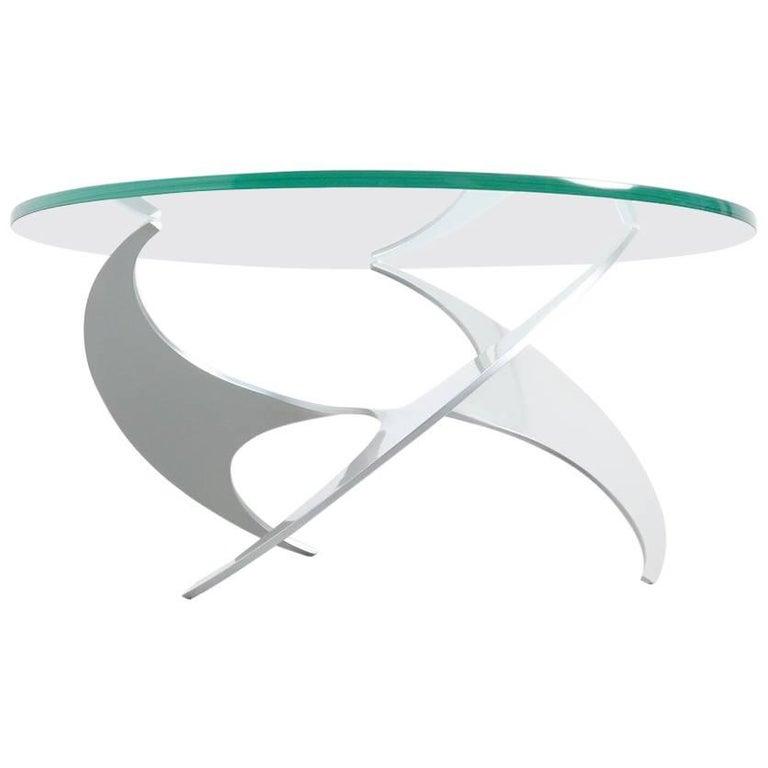 Propeller Coffee Table by Knut Hesterberg for Ronald Schmitt, 1964