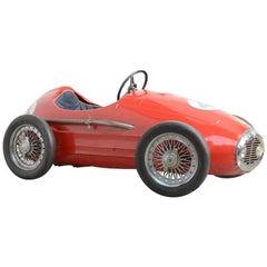 Grand Prix Ferrari Pedal Car by Giordani, Italy.