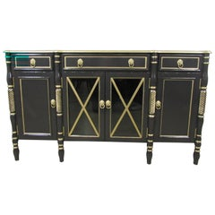 Maison Jansen Lacquered Sideboard