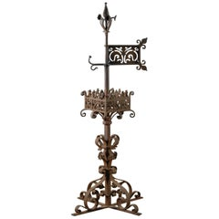 French Banner Weathervane Finial