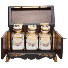 Mid 19th Century tea caddy English circa 1840