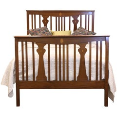Slatted Arts and Crafts Bedstead - WD17