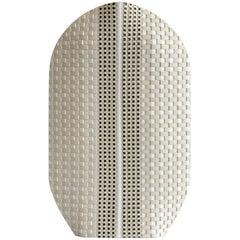 Contemporary Akan K20 Ceramic Vase Limited Edition, Handmade in France