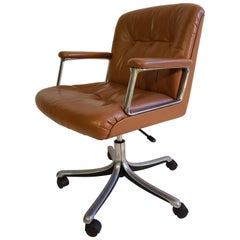 Office Chair by Osvaldo Borsani P128 for Tecno