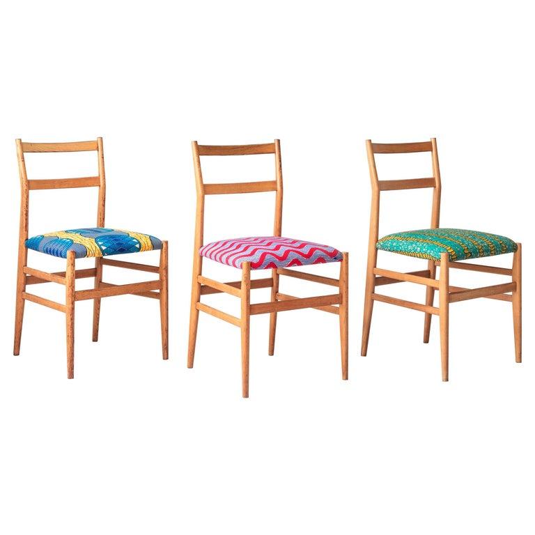 Vintage Gio Ponti Leggera Chairs For Sale