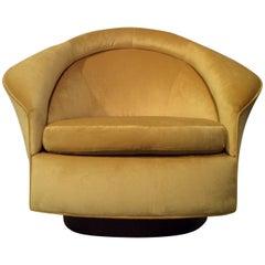 Adrian Pearsall Mid-Century Modern Tilt and Swivel Lounge for Craft Associates