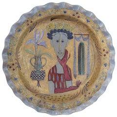 Vintage Birger Kaipiainen Ceramic Platter