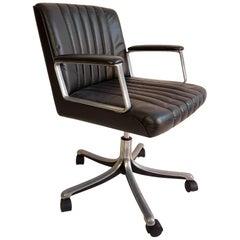 Swivel Desk Chair P126 by Osvaldo Borsani for Tecno