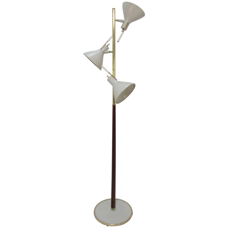 Gerald Thurston for Lightolier Adjustable Floor Lamp