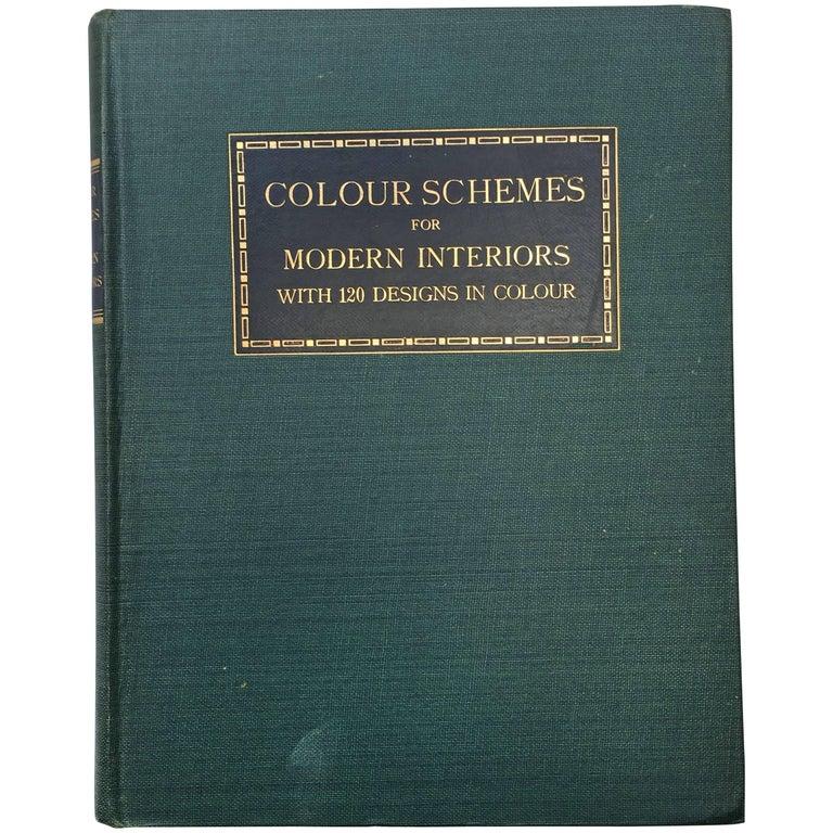 Colour Schemes for Modern Interiors, 1923