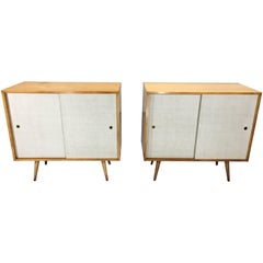 Set Pair of Paul McCobb Planner Group Large Cabinets, circa 1955