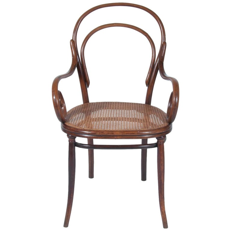 Thonet No. 11 Bentwood Armchair or Dining Chair