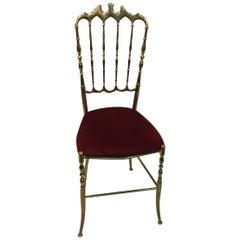 Italian Charivari Chair Brass High Style